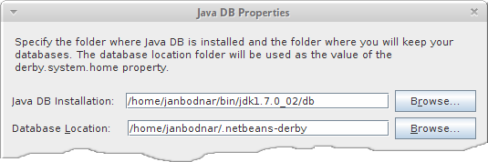 Derby with NetBeans