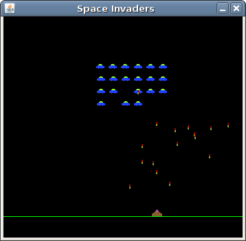 how to play space invaders