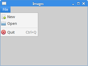 Menus and toolbars in GTK+