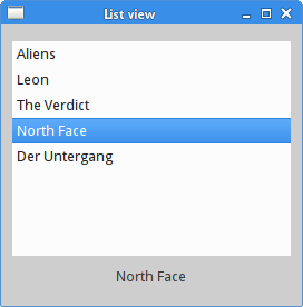 List view