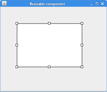 Resizable component
