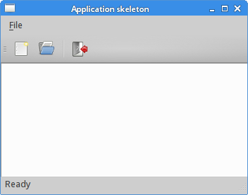 Application skeleton