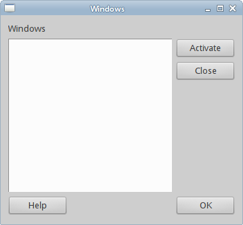 Windows example