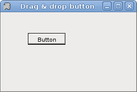 Dragging a button