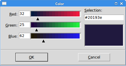 Dialogs in Tkinter - message box, color chooser, file dialog