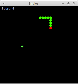 Snake in Tkinter - creating Snake game clone with Python and Tkinter