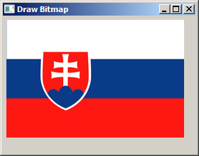 Drawing a bitmap