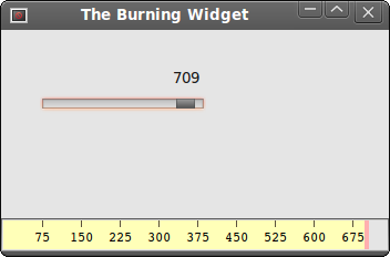 Burning Widget