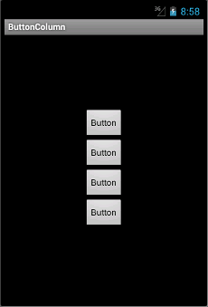 A column of buttons