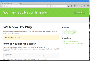 First Play application
